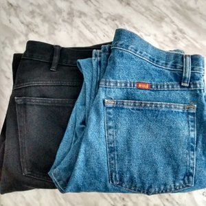 Two pairs of jeans 32/32